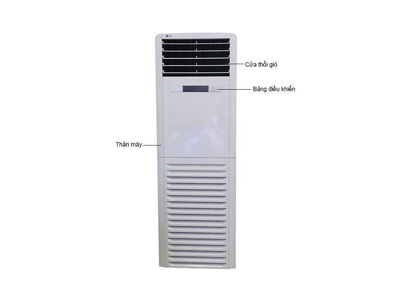 tủ đứng LG 48000BTU 1 chiều thường ga R410 APNC488TLA0/APUC488TLA0