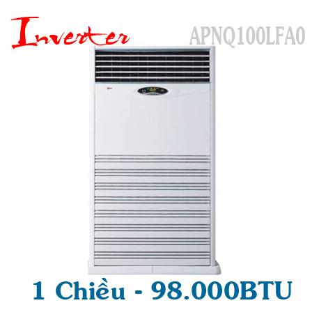 Điều hòa tủ đứng LG 98000BTU 1 chiều inverter ga R410A APUQ100LFA0/APNQ100LFA0