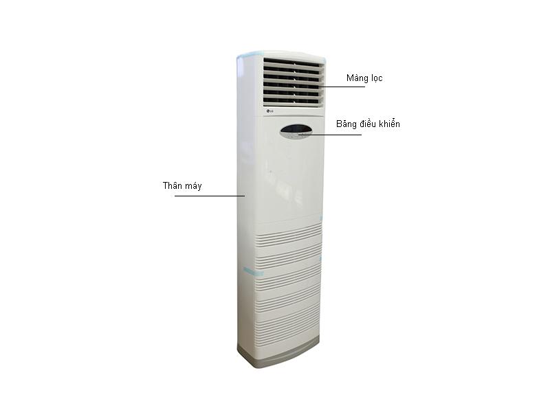 tủ đứng LG 24000BTU 1 chiều inverter ga R410A APUQ24GS1A3/APNQ24GS1A3